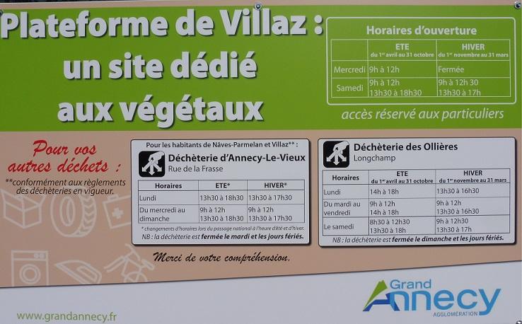 2017 Plateforme Déchets Verts Villaz
